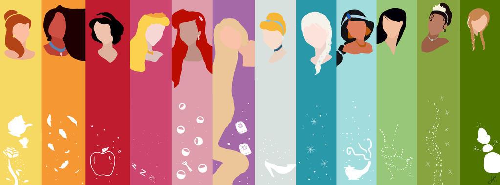 Disney princesses by AnnieLovato