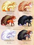 Ninetales variations