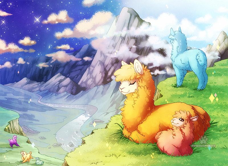 Alpacaland by ShinePawArt