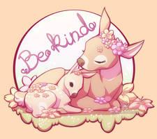 Be kind by ShinePawArt