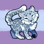 Snow Leopard chibi