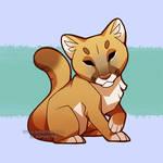 Cougar chibi