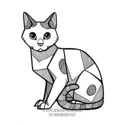Angular kitty - commission