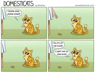 DomestiCats - Not that by ShinePawArt