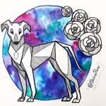 Pet portrait - traditional commission