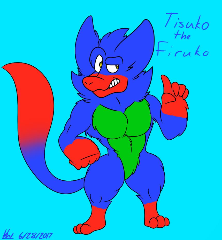 Tisuko the Firuko by AGlassOfBuizel