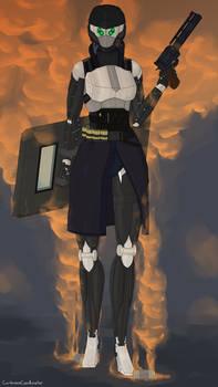 Veronika - combat equipment
