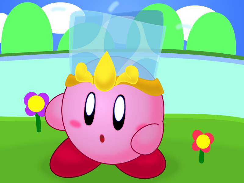 Kirby Water by Coonstito on deviantART