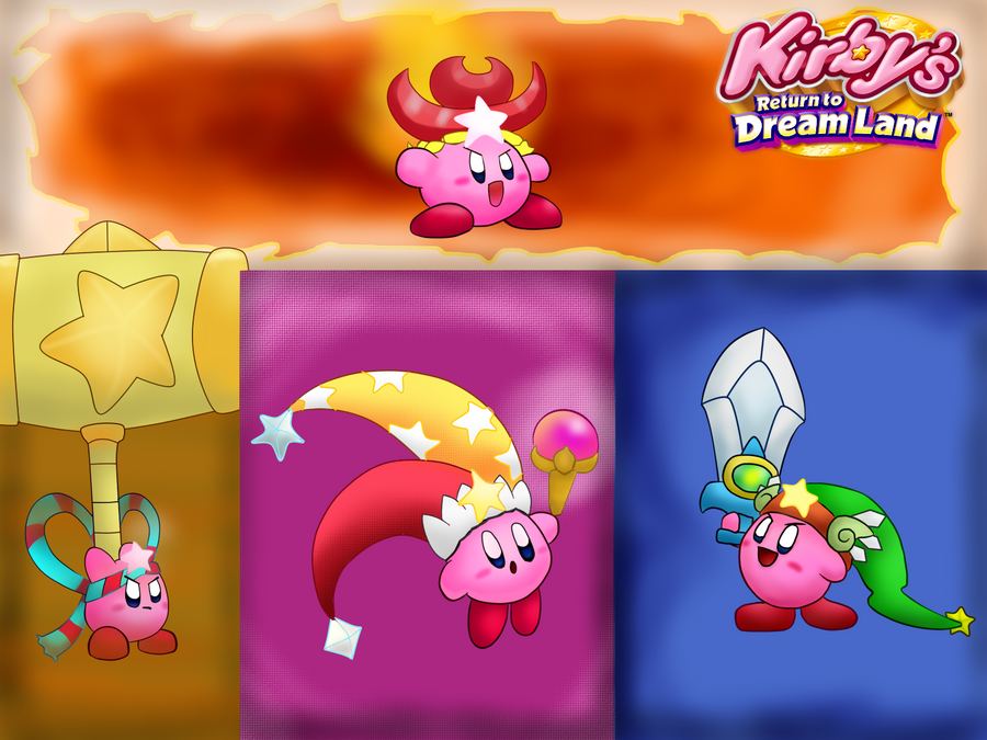 Kirby Return To Dream Land Super Abilities By Coonstito On