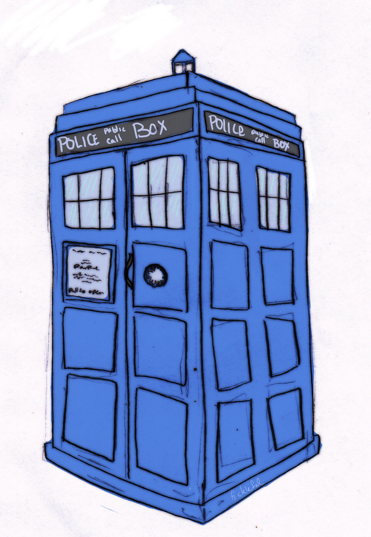 Tardis Vector Outline Tardis by tibbytabbycatTardis Vector Outline