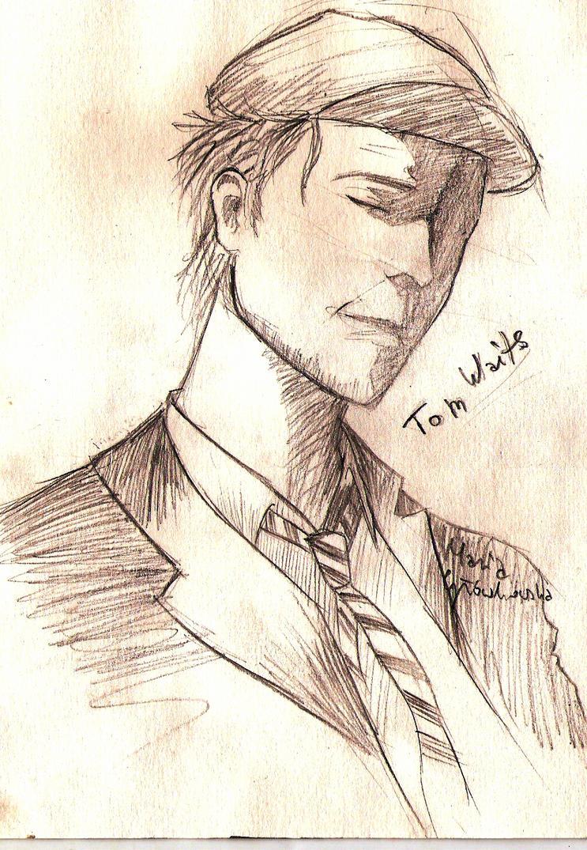 Tom Waits by Mery27