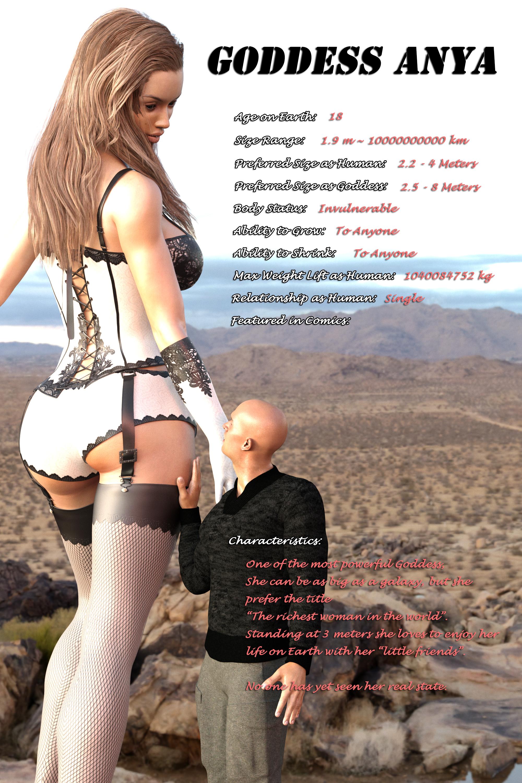 Goddess Anya Info by FaTerKCX