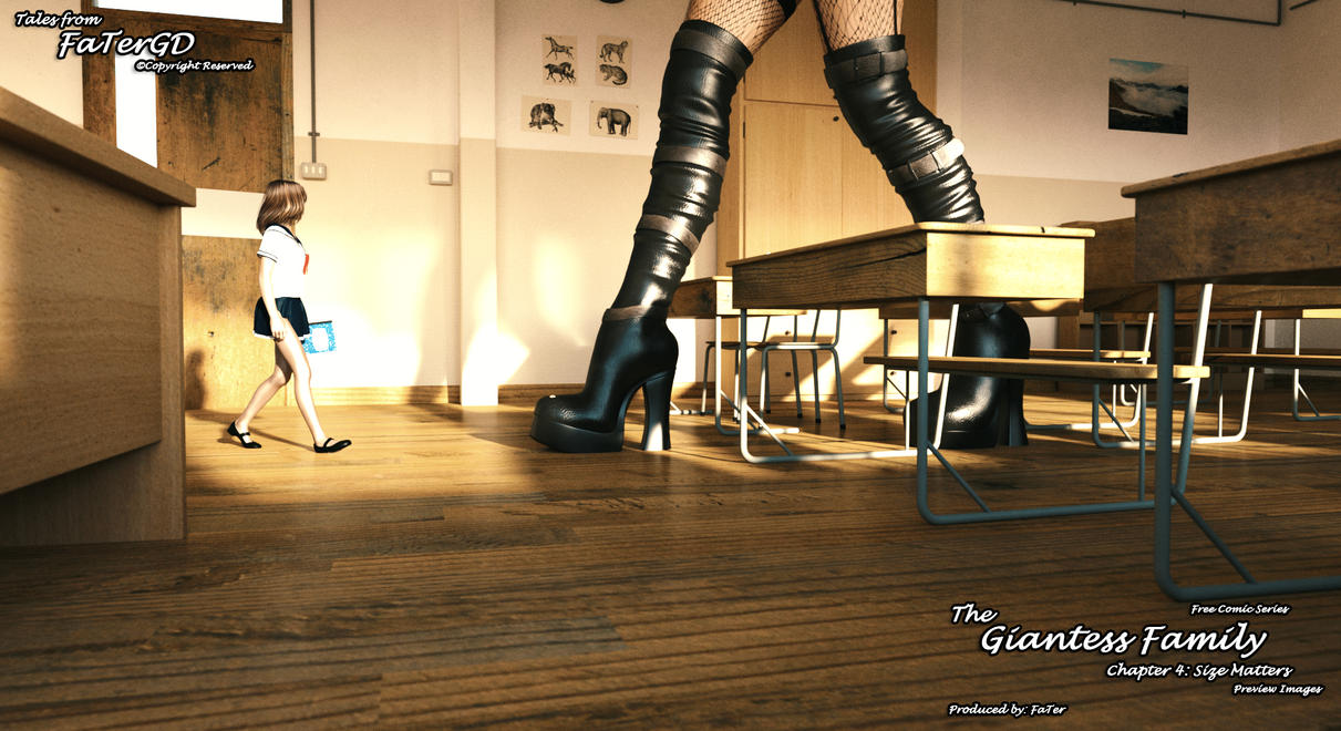 The Giantess Family Chapter 4 Preview 10 by FaTerKCX