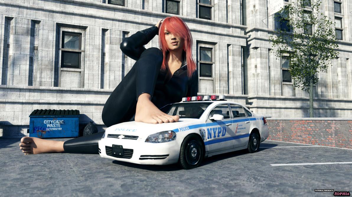 Police car - Sophia by FaTerKCX
