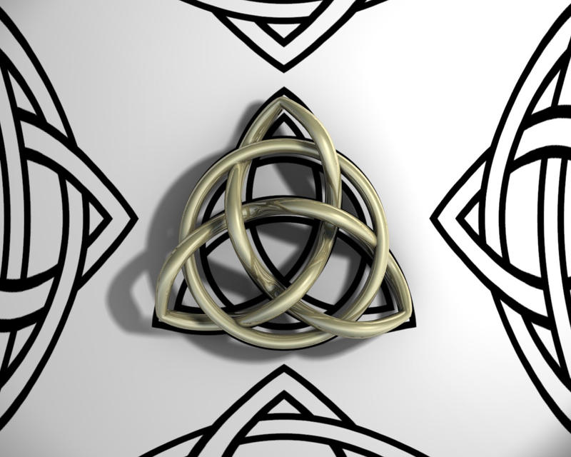 Triquetra Wallpaper by TheBigDaveC on DeviantArt