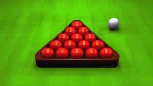 Snooker Triangle and Red Balls by TheBigDaveC