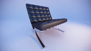 Barcelona Chair by TheBigDaveC