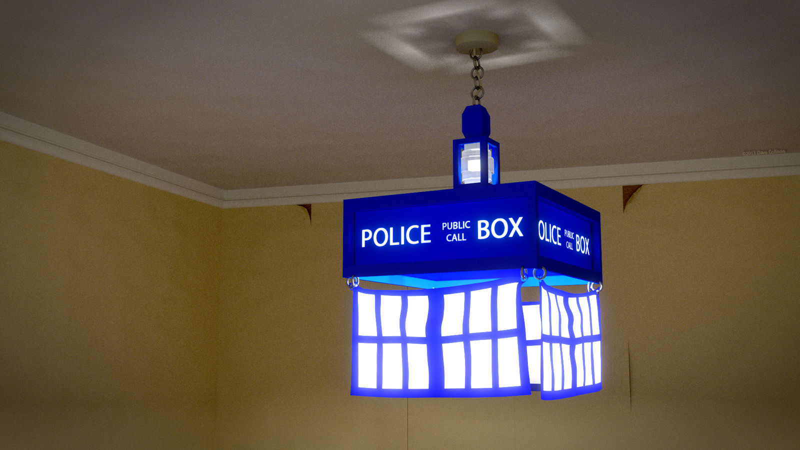 Good TARDIS Lamp Shade By TheBigDaveC TARDIS Lamp Shade By TheBigDaveC