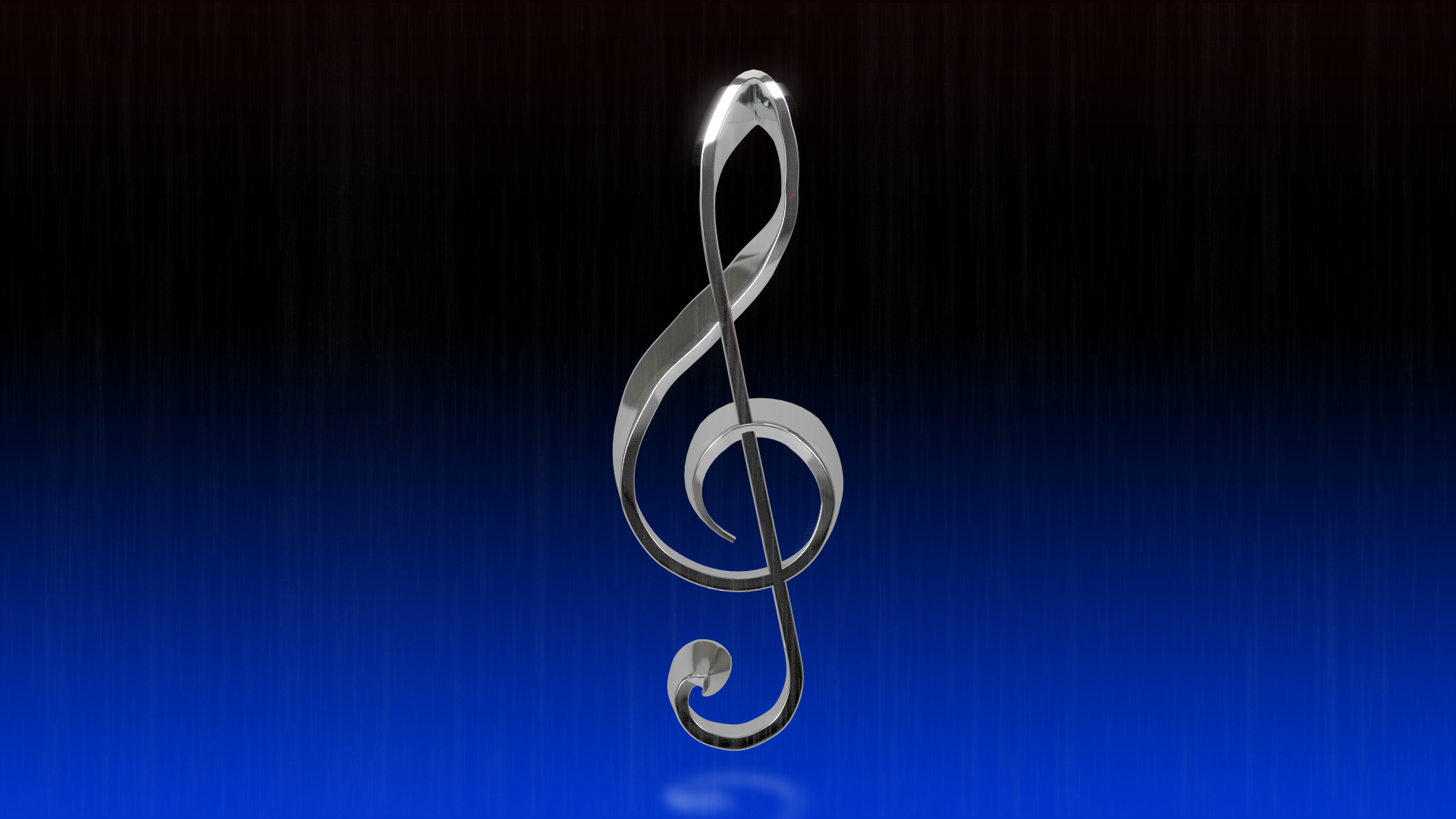 Treble Clef Wallpaper by TheBigDaveC