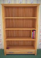 Bookshelf with four books by TheBigDaveC