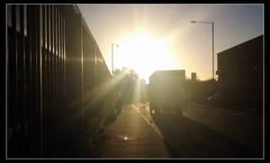 Bright Sunny Morning Walk by TheBigDaveC