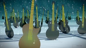 The Guitar Fields 2 by TheBigDaveC