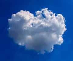 Heart Shaped Cloud by TheBigDaveC