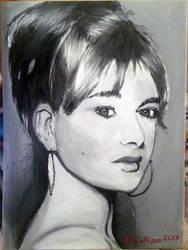Christina Jansen Portrait by TheBigDaveC