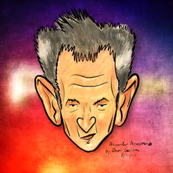 Alexander Armstrong Caricature