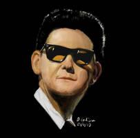 Roy Orbison Digital Portrait