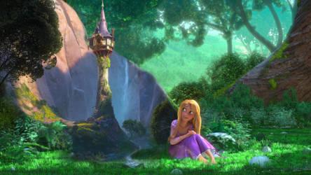 Tangled 1920x1080 - Rapunzel