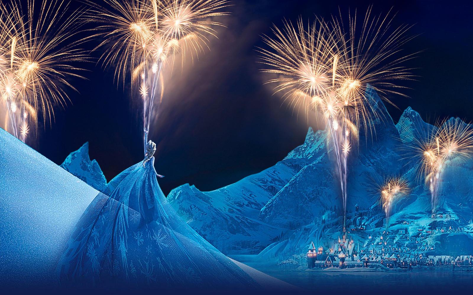 1600 x 1000 jpeg 501kB, Frozen - 1920x1200 (Happy New Year - Simple ...