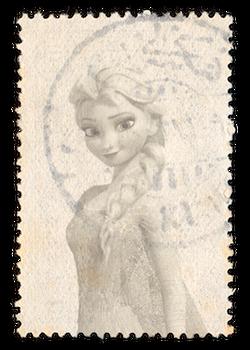 Frozen - 290x406 (Elsa Postage Stamp)