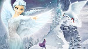 Frozen - 1920x1080 (Elsa Fly 2)