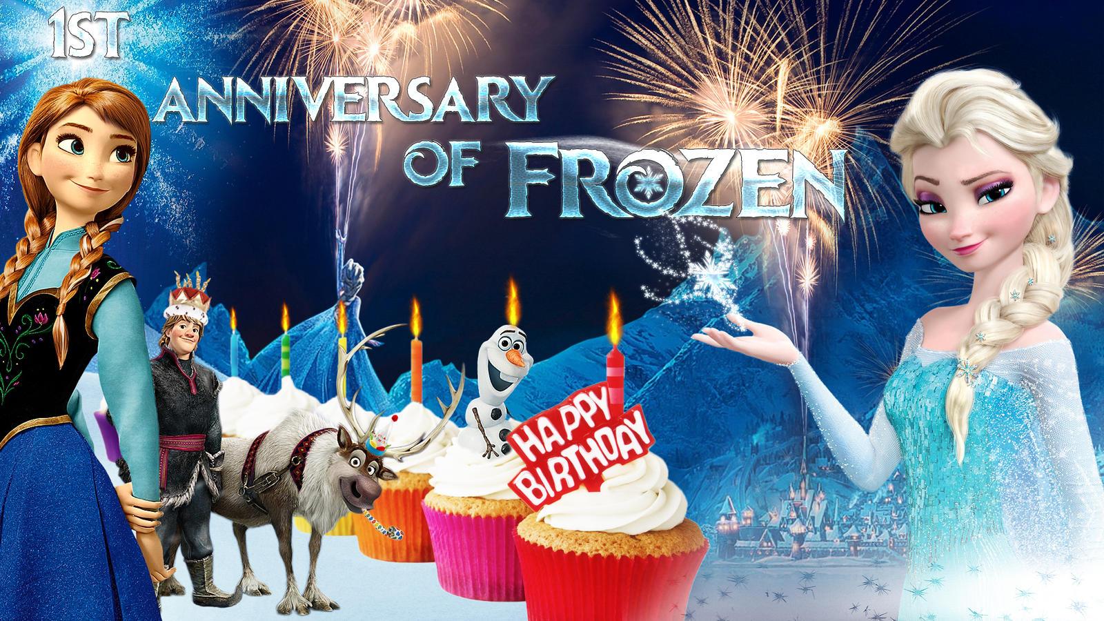 frozen  1920x1080 happy birthday frozencographic on