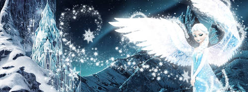 Facebook Cover (Elsa - The Queen of Arendelle)