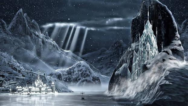 Frozen - 1920x1080 (Arendelle Ice Palace 2)