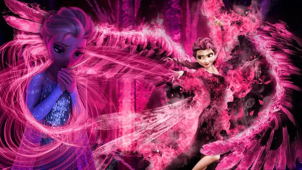 Frozen - 1920x1080 (Elsa fear is your Enemy)