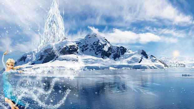 Frozen - 5120x2880 (Elsa Iceland)