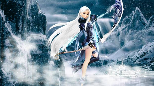 Crossover - 1920x1080 (Elsa - The Frozen Hunter 2)
