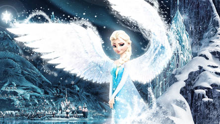 Frozen - 1920x1080 Elsa - The Queen of Arendelle 2