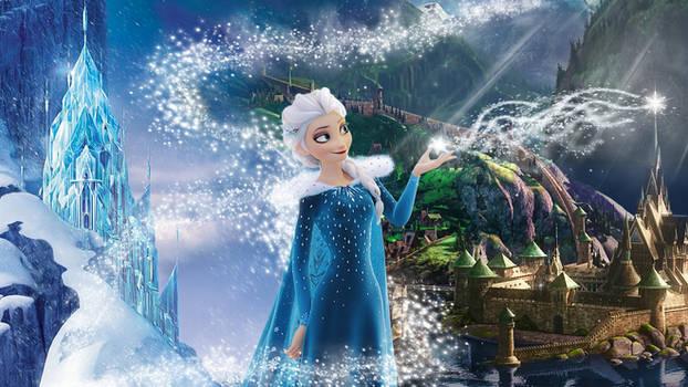 Frozen - 1920x1080 (Elsa of Arendelle)