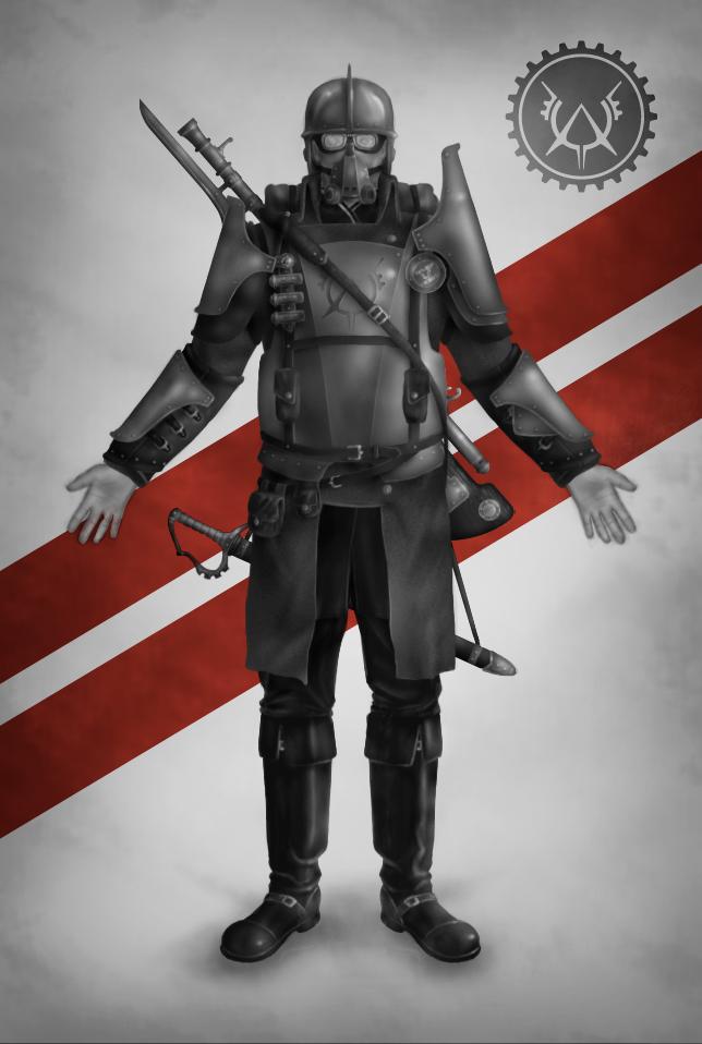Belothian soldier - Heavy by NazerMatt