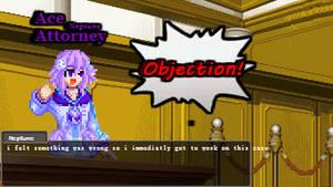 CPU Neptune Ace Attorney
