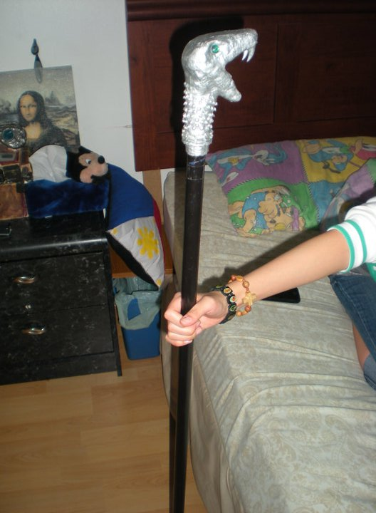 Lucius Malfoys Wand Lucius Malfoy 39 s Walking Stick