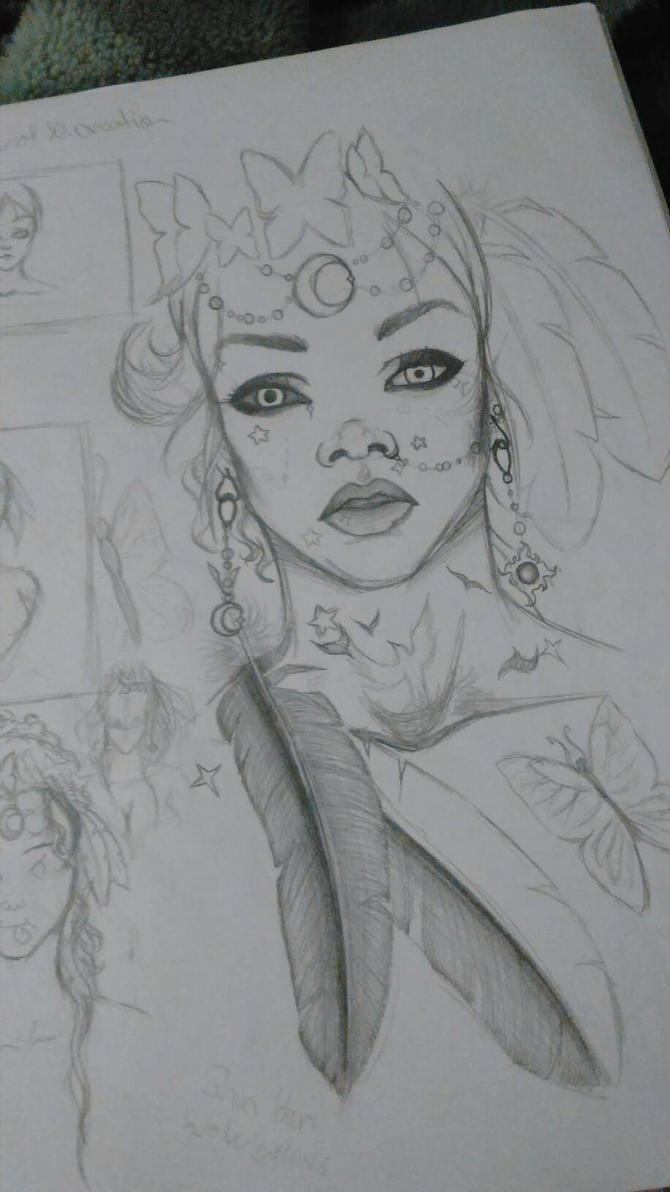 Creation sketch by Lele-halo