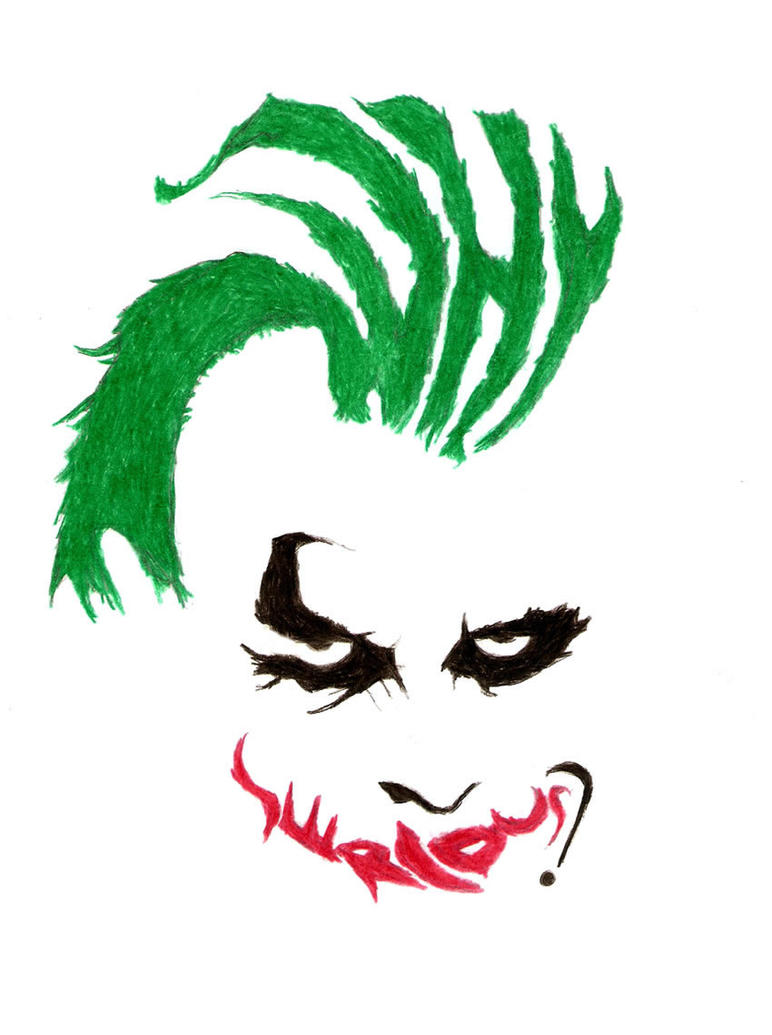 Why So Serious? by maristane on DeviantArt