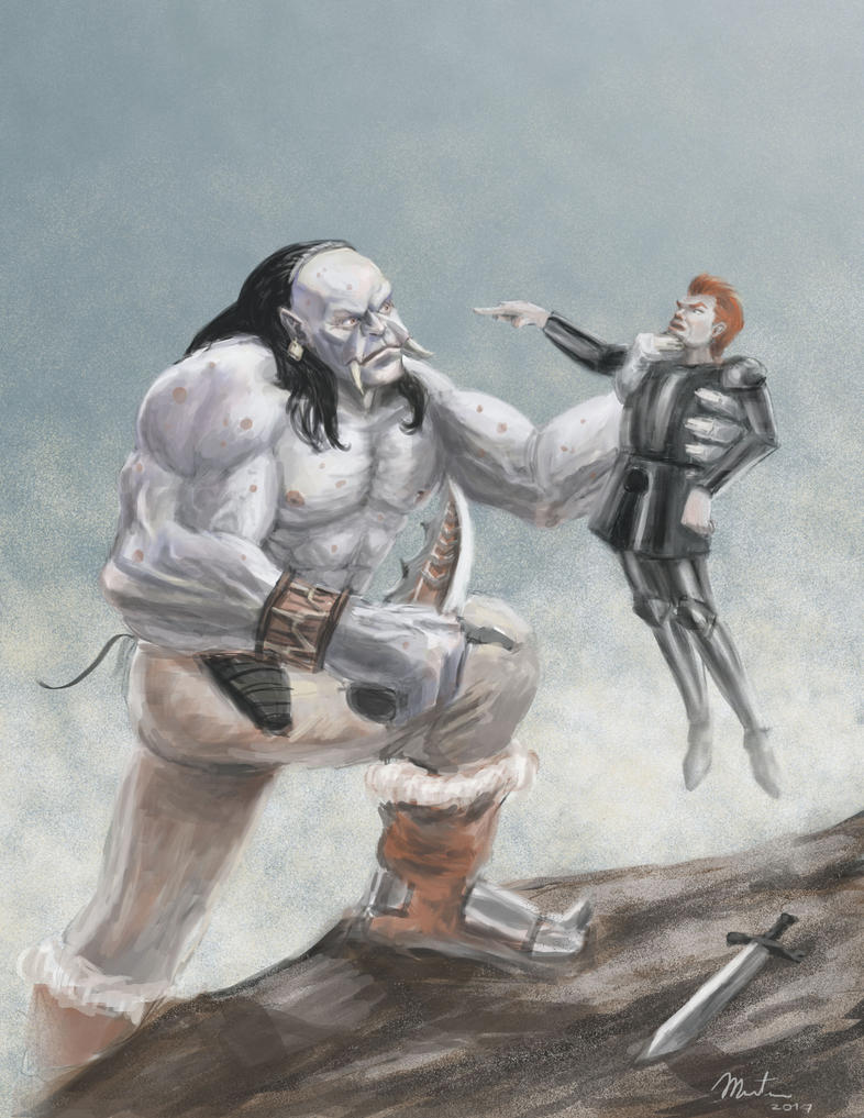 Arguing with an Orc by maristane