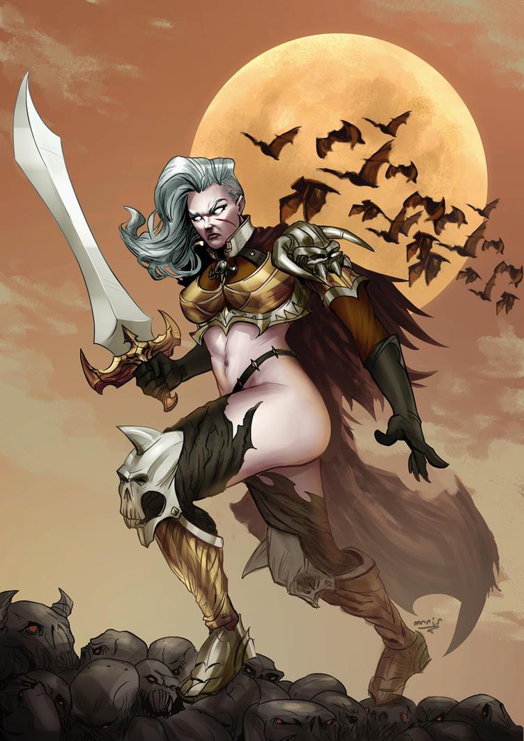 Lady Death by maristane