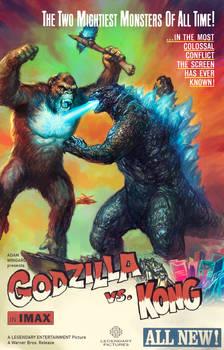 Godzilla vs. Kong Fan Art